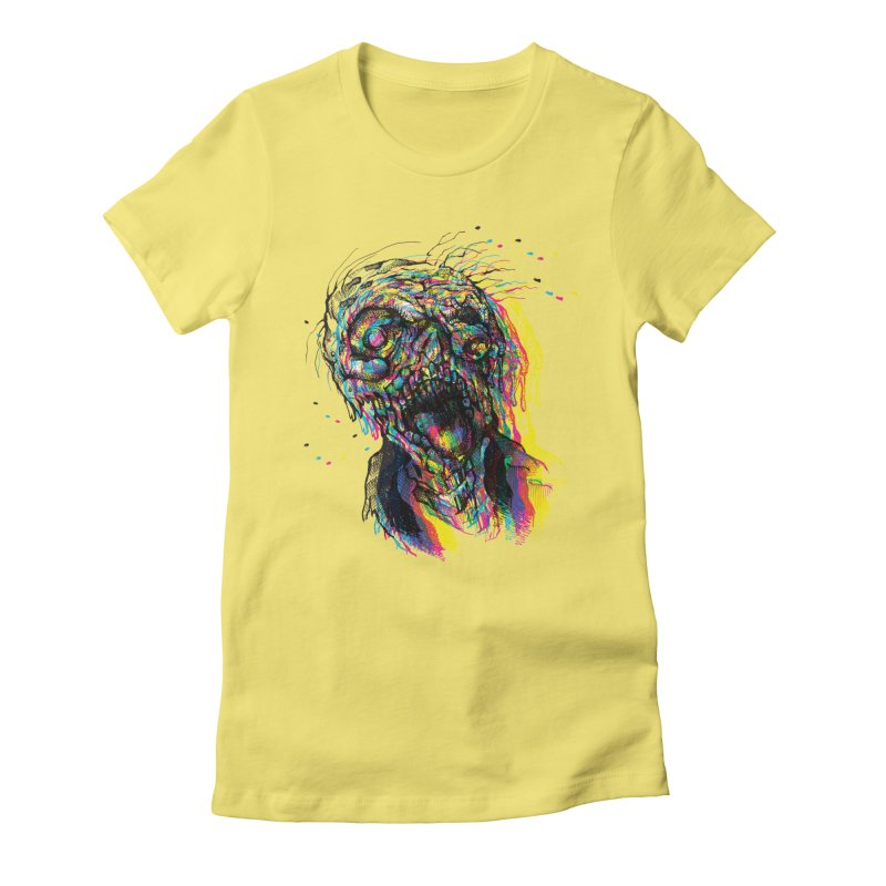 apokalipz now! Women's Fitted T-Shirt by okik's Artist Shop