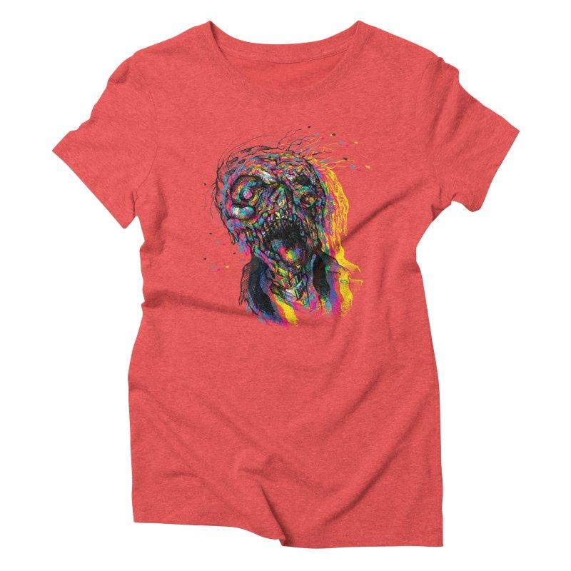 apokalipz now! Women's Triblend T-Shirt by okik's Artist Shop