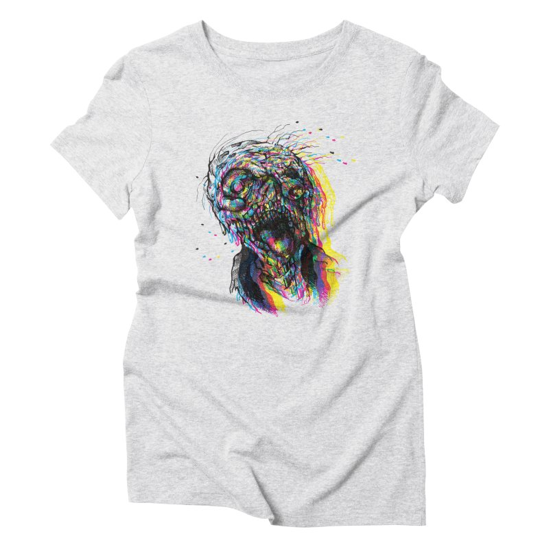 apokalipz now! Women's Triblend T-Shirt by okik's Artist Shop