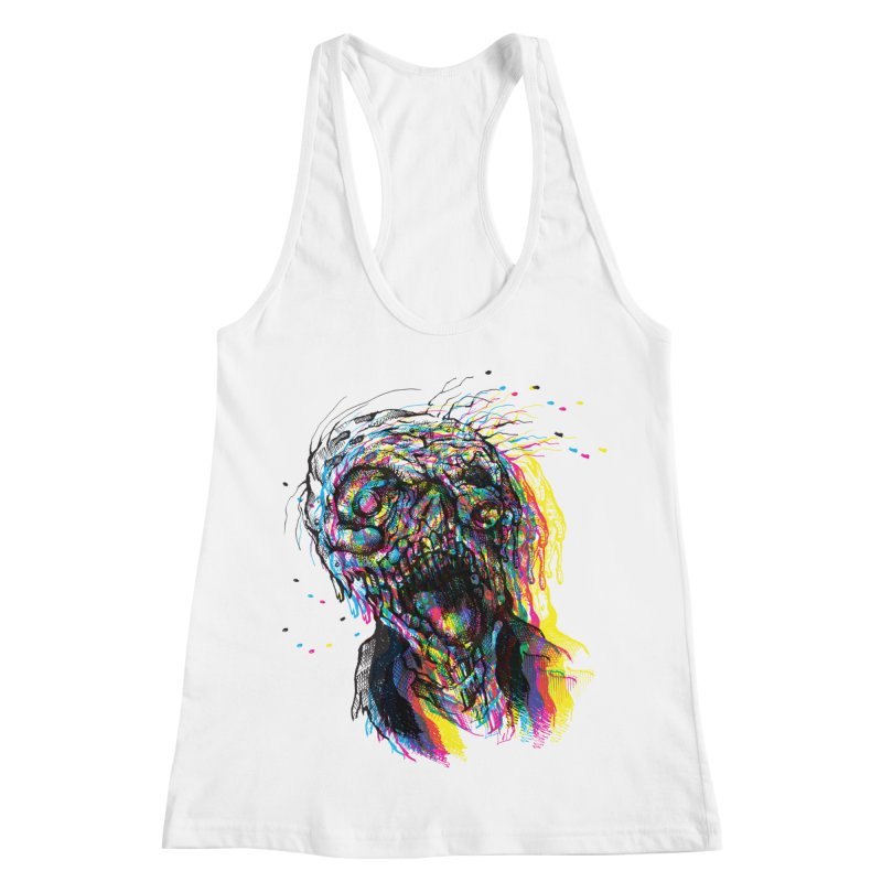 apokalipz now! Women's Racerback Tank by okik's Artist Shop
