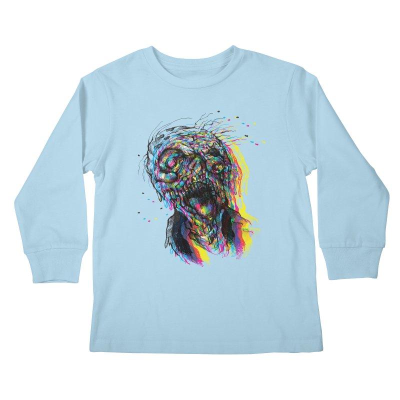 apokalipz now! Kids Longsleeve T-Shirt by okik's Artist Shop