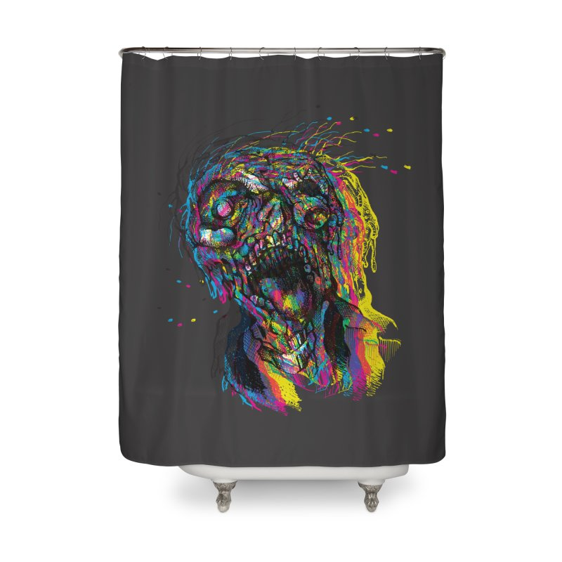 apokalipz now! Home Shower Curtain by okik's Artist Shop