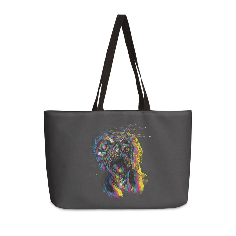 apokalipz now! Accessories Weekender Bag Bag by okik's Artist Shop