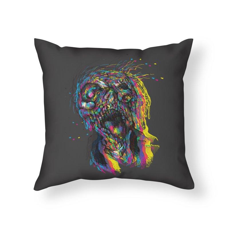 apokalipz now! Home Throw Pillow by okik's Artist Shop