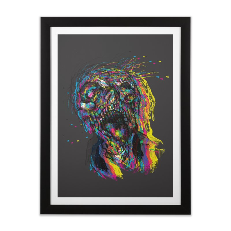 apokalipz now! Home Framed Fine Art Print by okik's Artist Shop