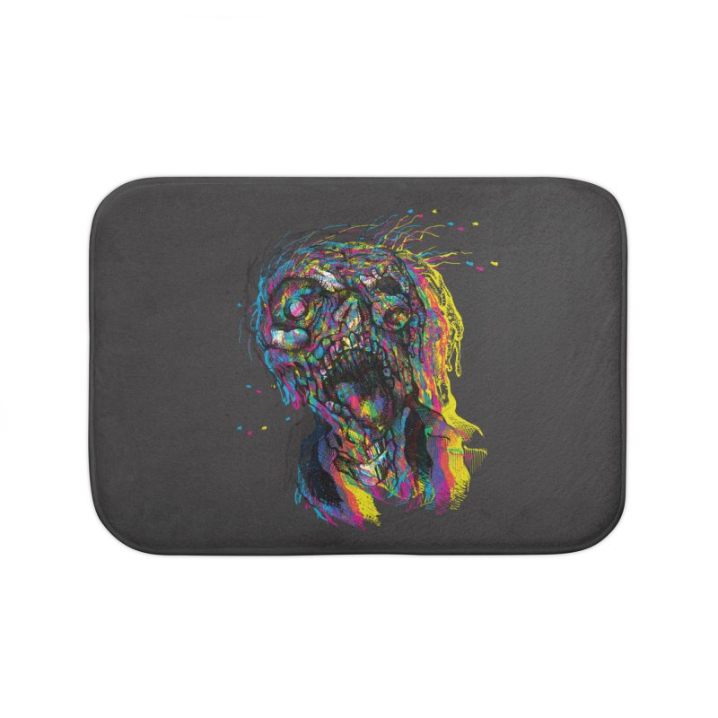 apokalipz now! Home Bath Mat by okik's Artist Shop