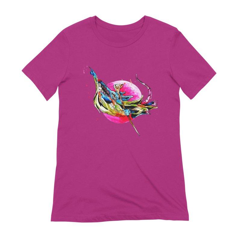 yo! Women's Extra Soft T-Shirt by okik's Artist Shop