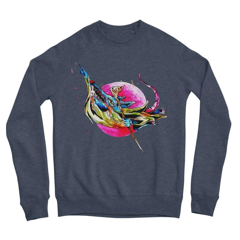 yo! Women's Sponge Fleece Sweatshirt by okik's Artist Shop