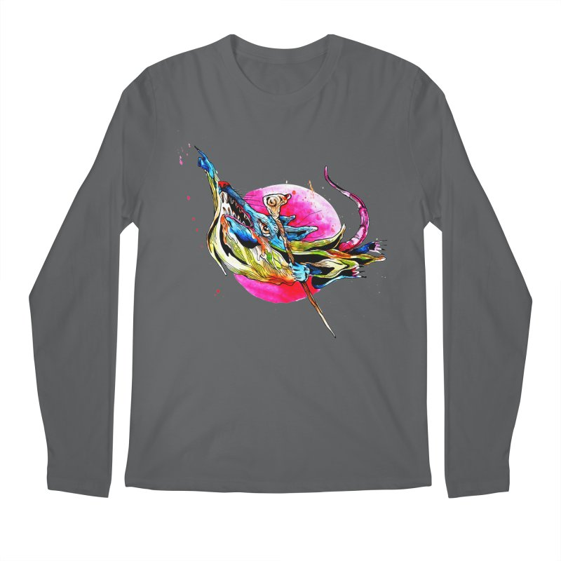 yo! Men's Regular Longsleeve T-Shirt by okik's Artist Shop