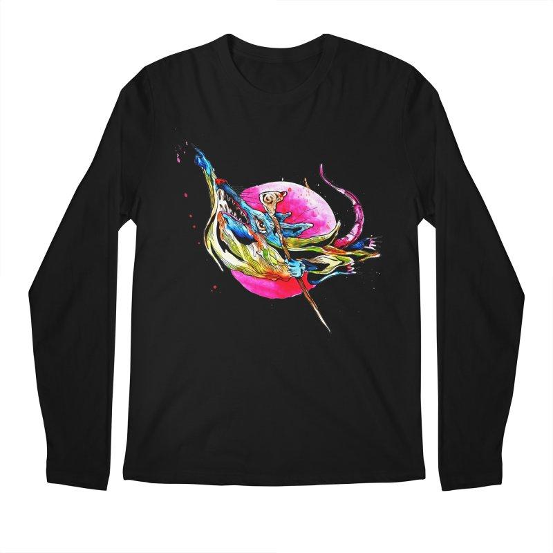 yo! Men's Regular Longsleeve T-Shirt by okik's Artist Shop