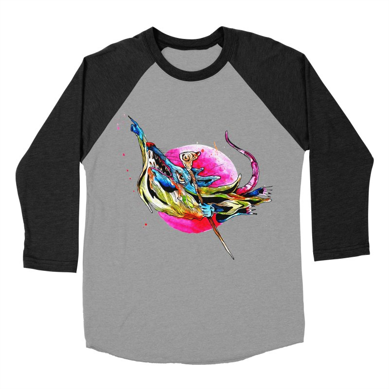 yo! Women's Baseball Triblend Longsleeve T-Shirt by okik's Artist Shop