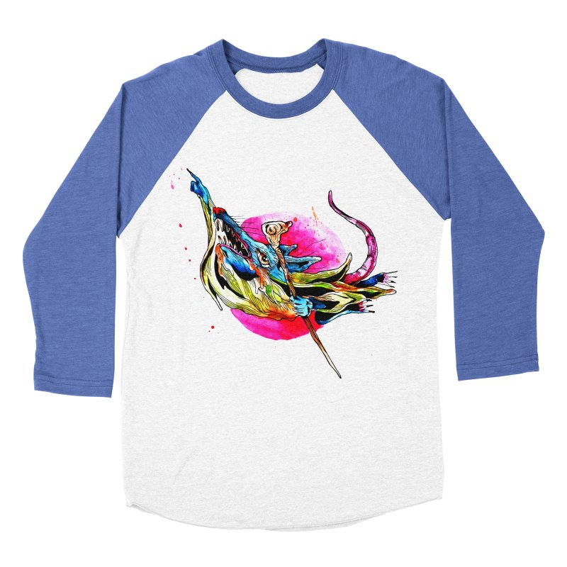 yo! Men's Baseball Triblend Longsleeve T-Shirt by okik's Artist Shop