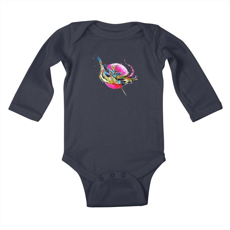 yo! Kids Baby Longsleeve Bodysuit by okik's Artist Shop