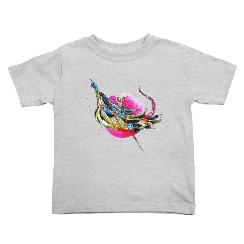 yo! Kids Toddler T-Shirt by okik's Artist Shop