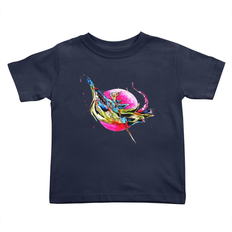 yo! Kids Toddler T-Shirt by okik's Artist Shop