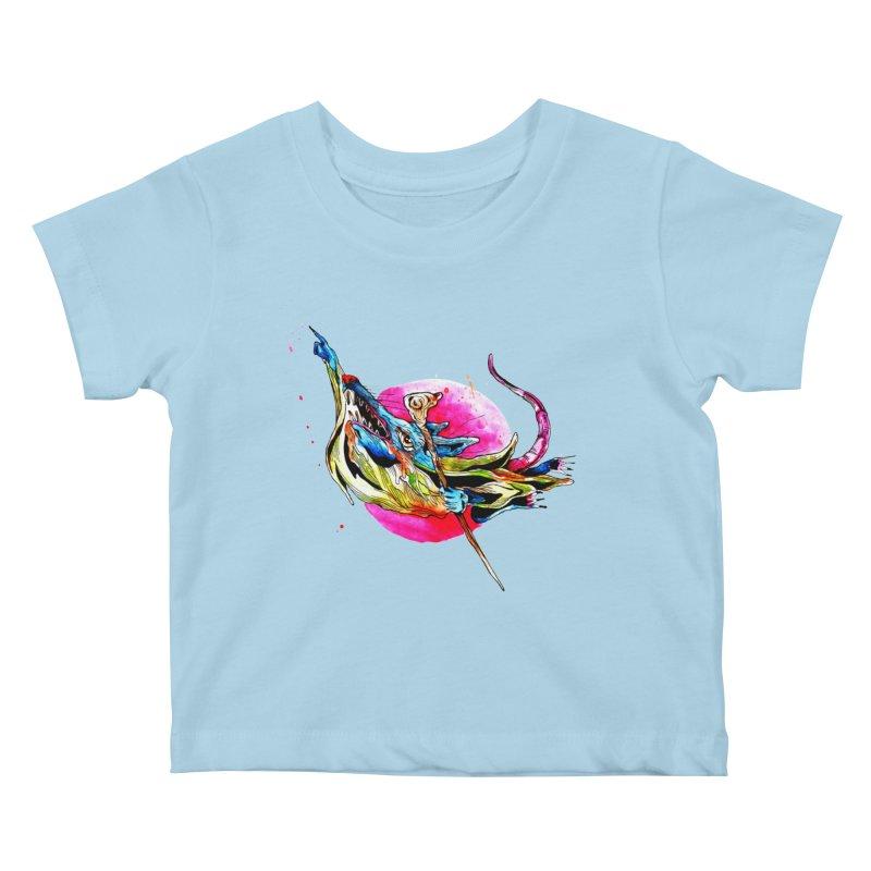 yo! Kids Baby T-Shirt by okik's Artist Shop
