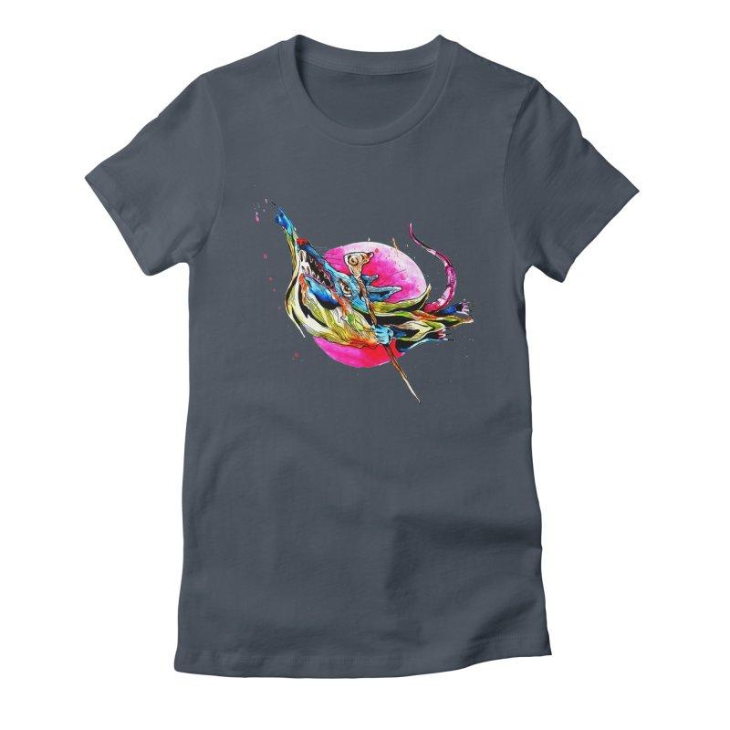 yo! Women's T-Shirt by okik's Artist Shop