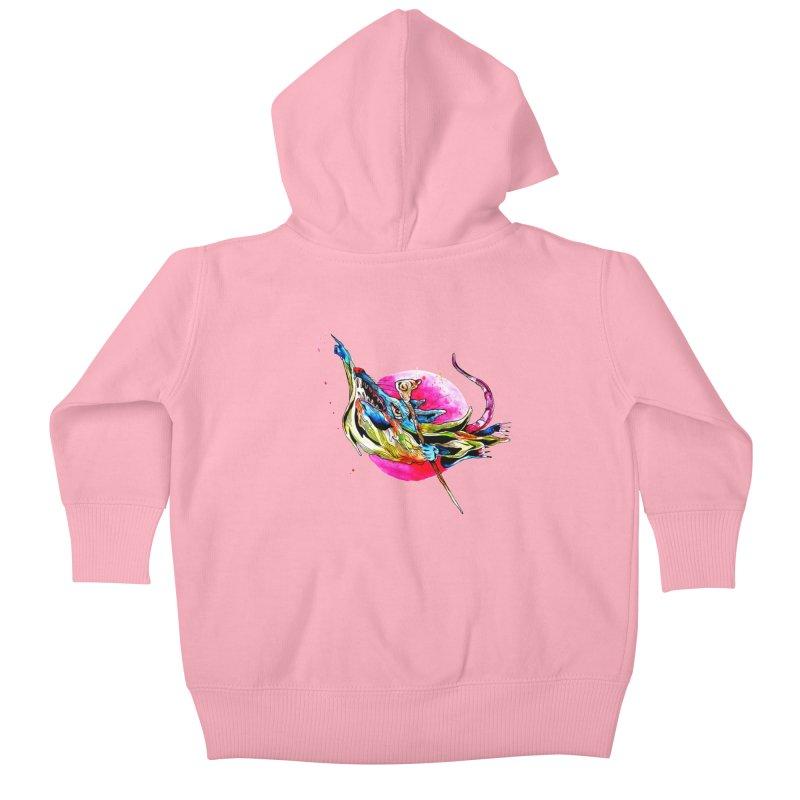 yo! Kids Baby Zip-Up Hoody by okik's Artist Shop