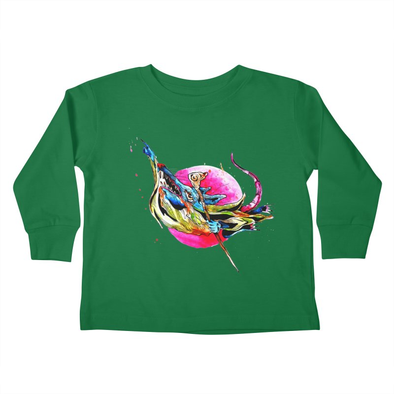 yo! Kids Toddler Longsleeve T-Shirt by okik's Artist Shop