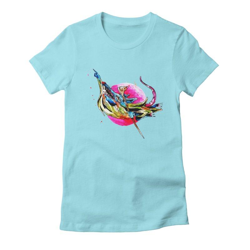 yo! Women's Fitted T-Shirt by okik's Artist Shop