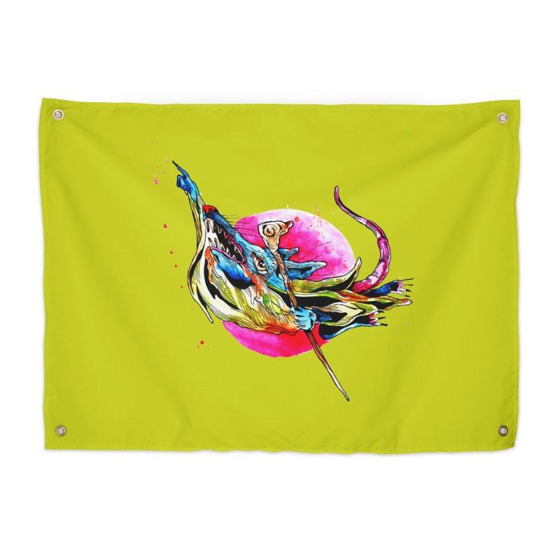 yo! Home Tapestry by okik's Artist Shop