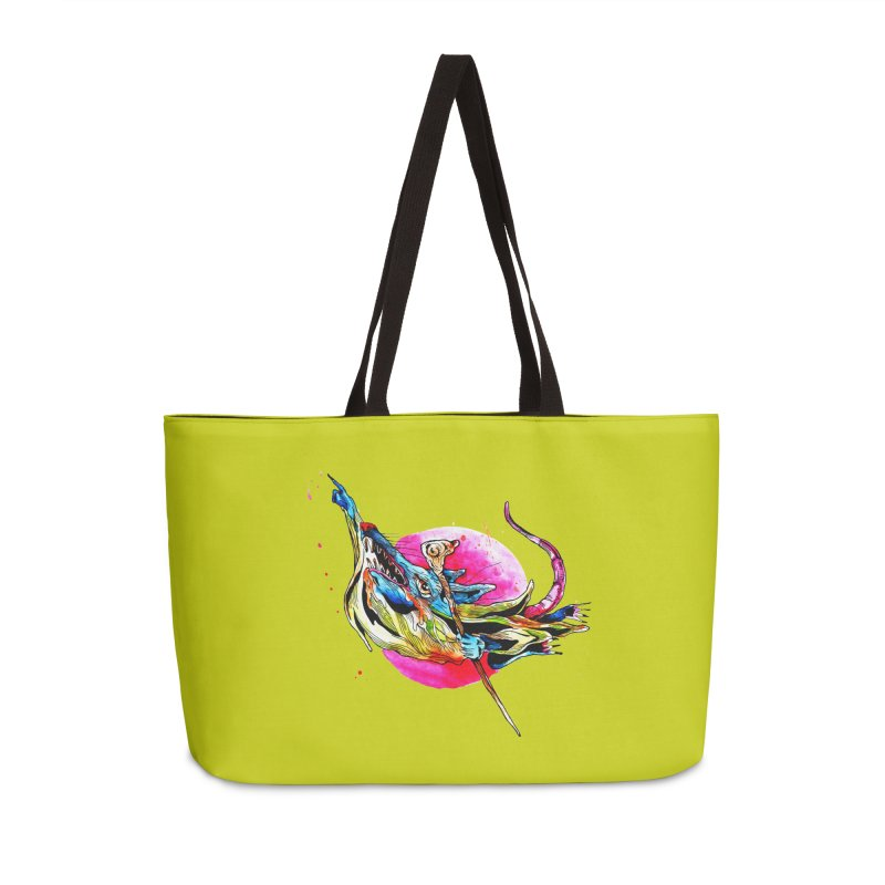 yo! Accessories Weekender Bag Bag by okik's Artist Shop