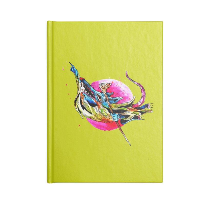 yo! Accessories Lined Journal Notebook by okik's Artist Shop