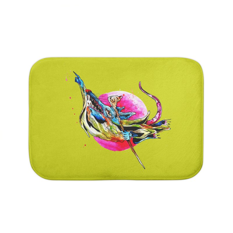 yo! Home Bath Mat by okik's Artist Shop