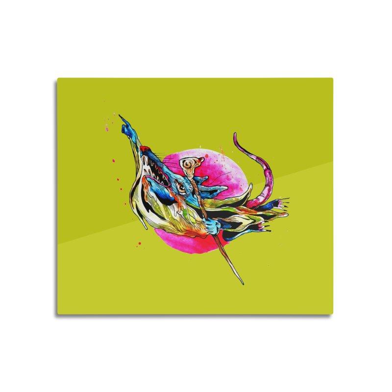 yo! Home Mounted Acrylic Print by okik's Artist Shop