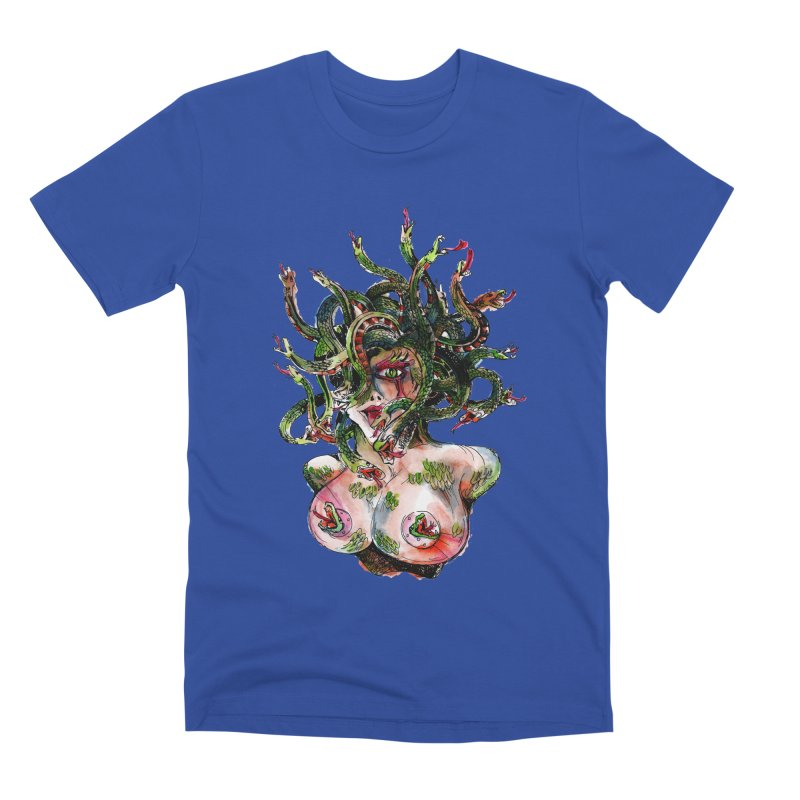 maneater Men's Premium T-Shirt by okik's Artist Shop