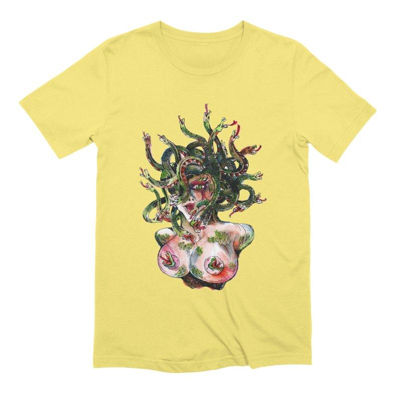 maneater Men's Extra Soft T-Shirt by okik's Artist Shop