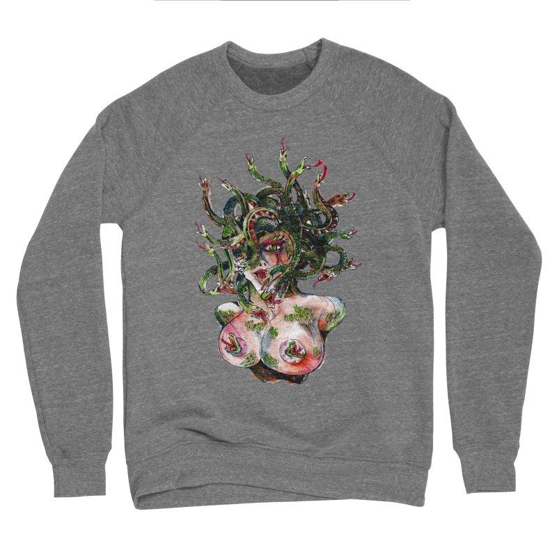 maneater Women's Sponge Fleece Sweatshirt by okik's Artist Shop