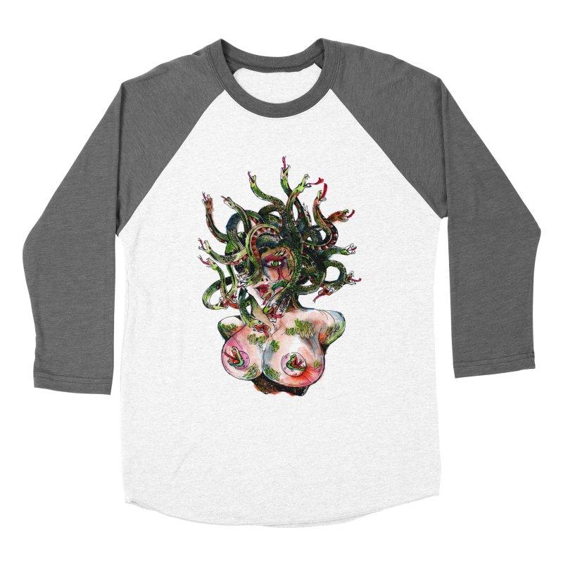 maneater Women's Longsleeve T-Shirt by okik's Artist Shop