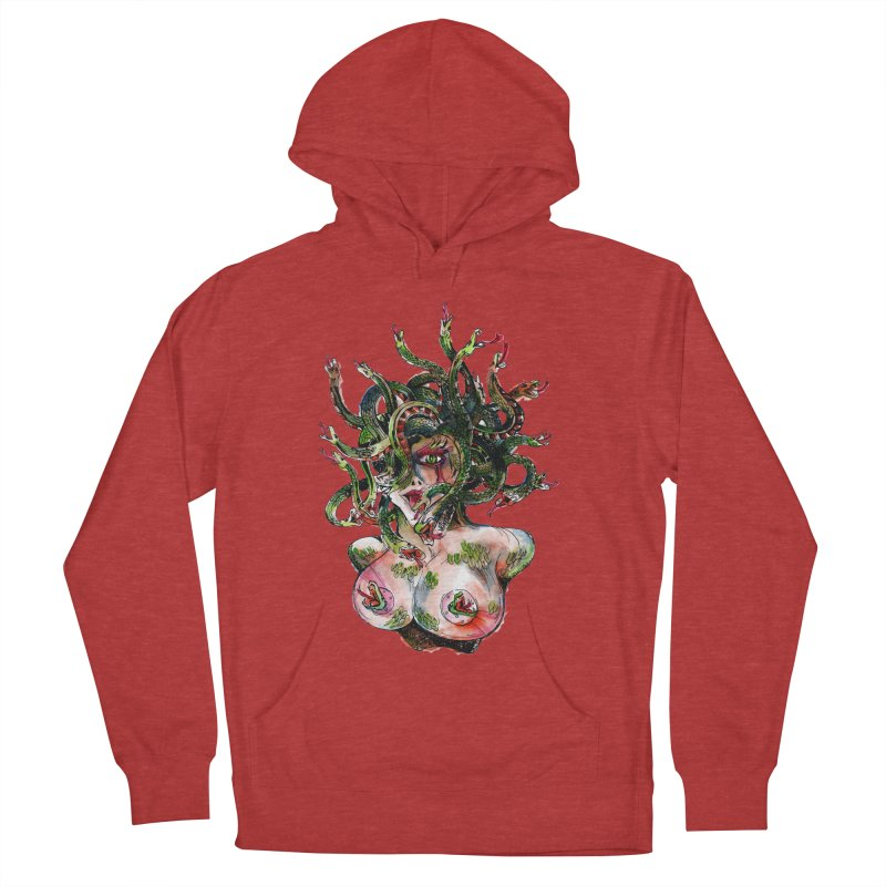 maneater Women's French Terry Pullover Hoody by okik's Artist Shop