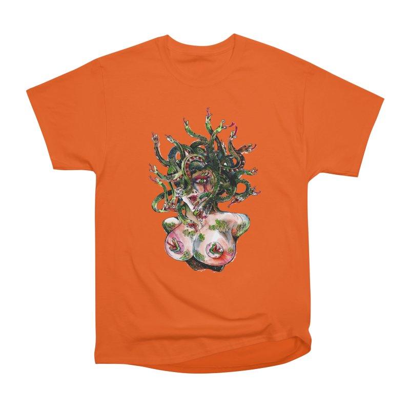 maneater Women's Heavyweight Unisex T-Shirt by okik's Artist Shop