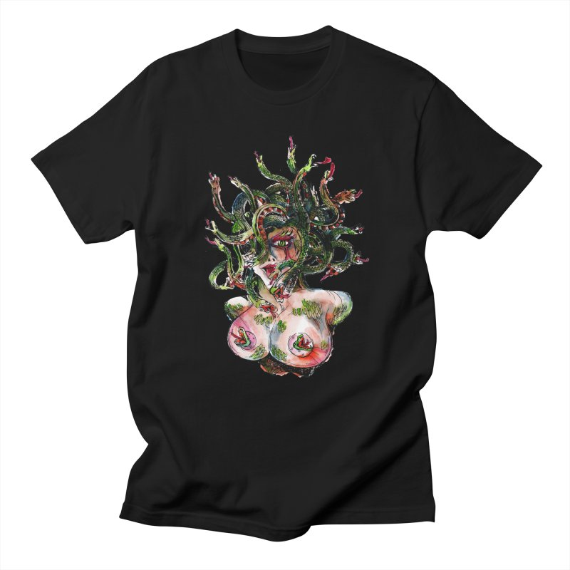 maneater Men's Regular T-Shirt by okik's Artist Shop