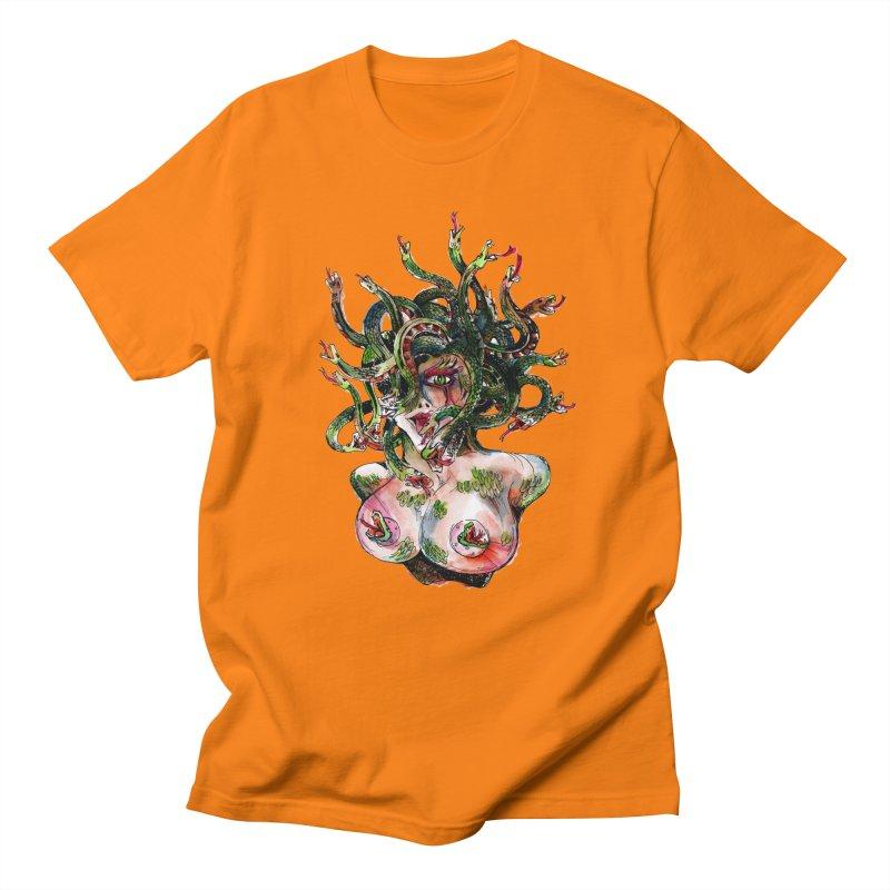 maneater Women's Regular Unisex T-Shirt by okik's Artist Shop
