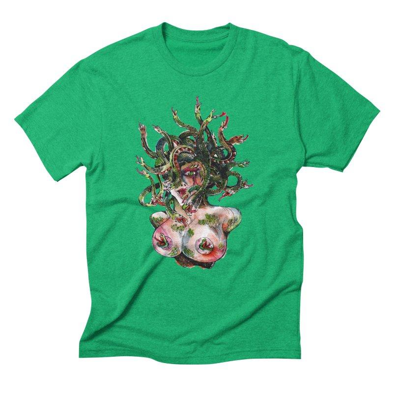 maneater Men's Triblend T-Shirt by okik's Artist Shop