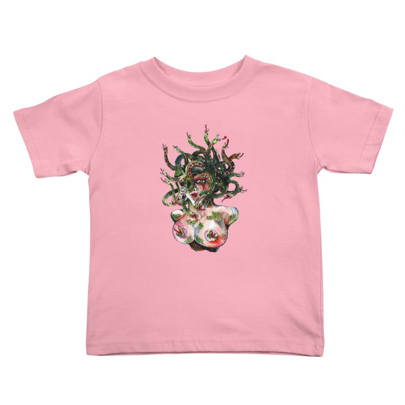 maneater Kids Toddler T-Shirt by okik's Artist Shop