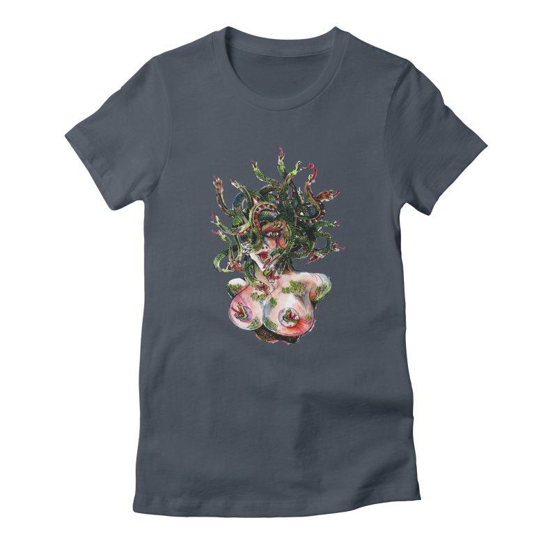maneater Women's T-Shirt by okik's Artist Shop