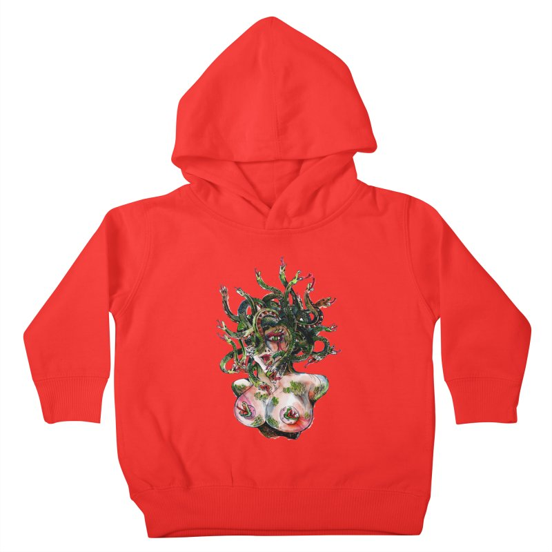 maneater Kids Toddler Pullover Hoody by okik's Artist Shop