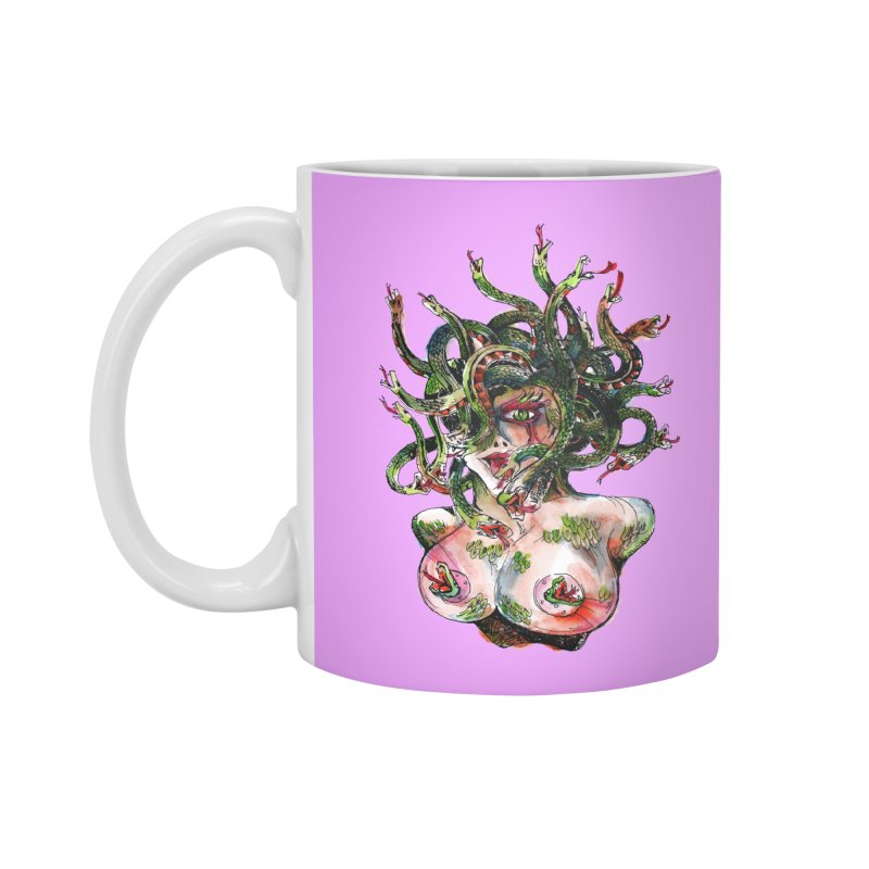 maneater Accessories Standard Mug by okik's Artist Shop
