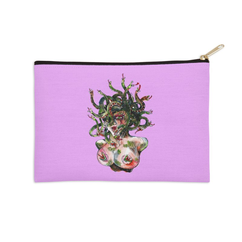 maneater Accessories Zip Pouch by okik's Artist Shop
