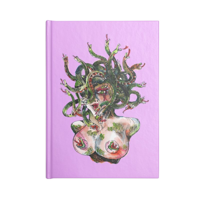 maneater Accessories Lined Journal Notebook by okik's Artist Shop