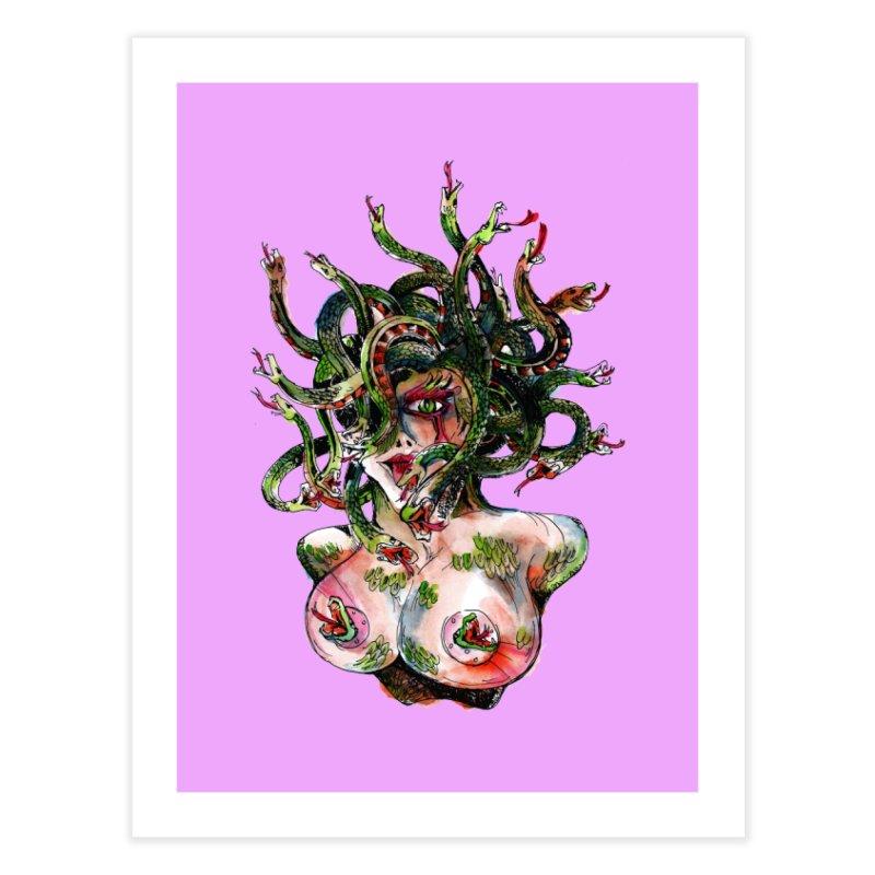 maneater Home Fine Art Print by okik's Artist Shop