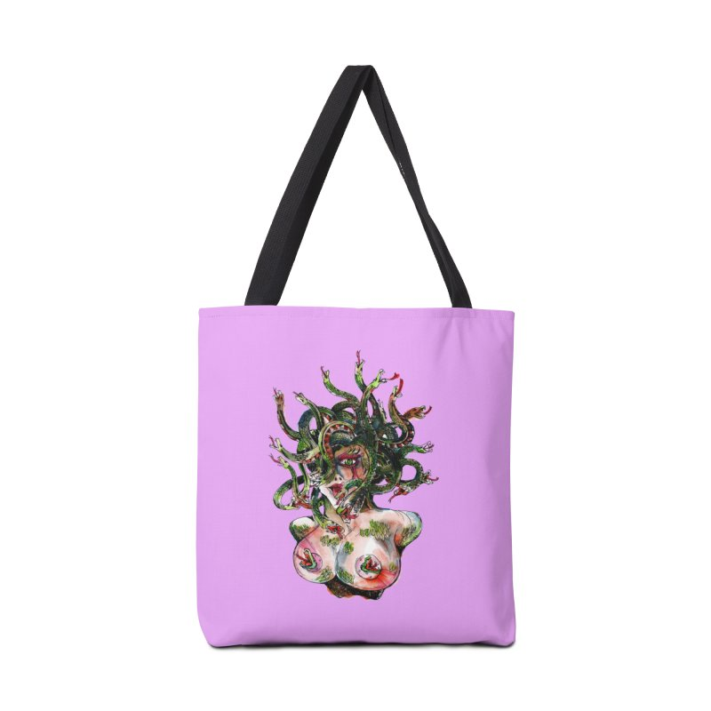 maneater Accessories Tote Bag Bag by okik's Artist Shop