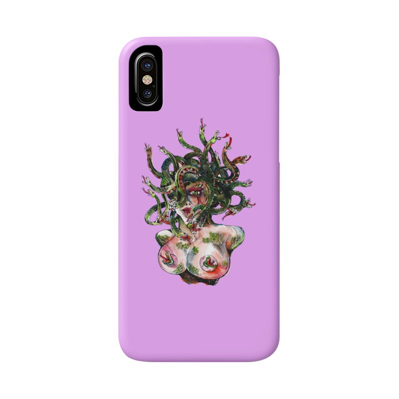 maneater Accessories Phone Case by okik's Artist Shop
