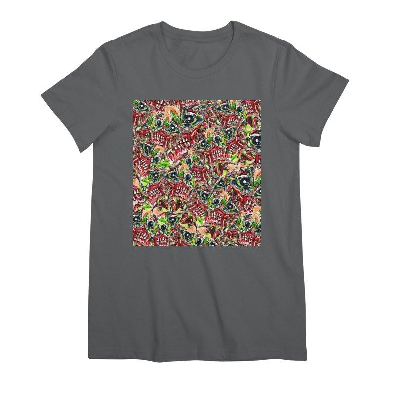 full teeth Women's T-Shirt by okik's Artist Shop