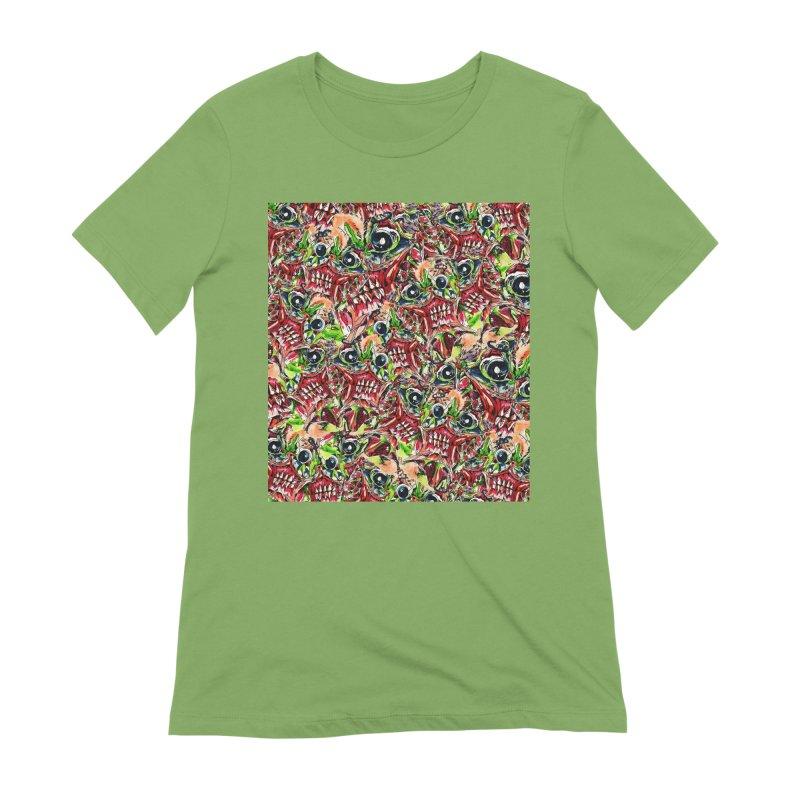 full teeth Women's Extra Soft T-Shirt by okik's Artist Shop