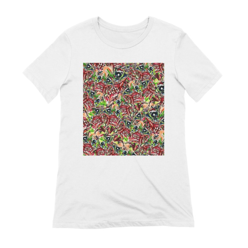 full teeth Women's Extra Soft T-Shirt by okik's Artist Shop